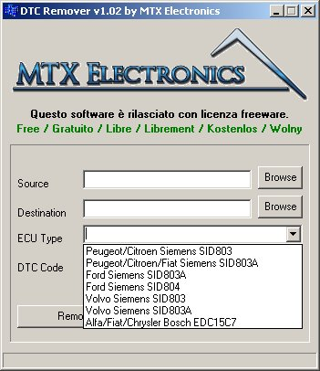 Dtc remover - Tlemcen Car electronics