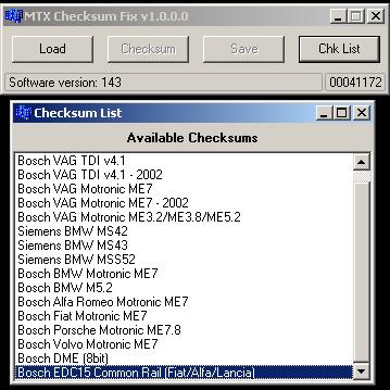 MTX Checksum Fix v1 0 0 6 - DEMO / MTX Checksum Fix / Downloads